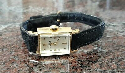Vintage Jaeger Lecoultre ladies  watch 14k