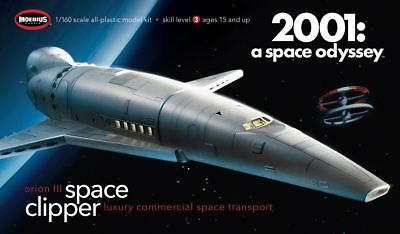 Moebius Orion III Space Clipper 2001 A Space Odyssey model kit new 1/160 2001-2