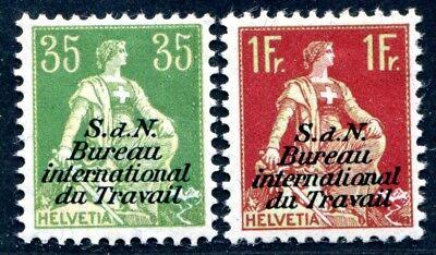 SCHWEIZ BIT 1923 6,11x * seltene WERTE ungebraucht 340€(S3270