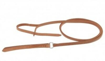 Western Horse Barrel Racing  Berlin Leather Over and Under Quirt or Whip 48/""