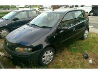 Fiat Punto 1.2 Black Spares and Repairs