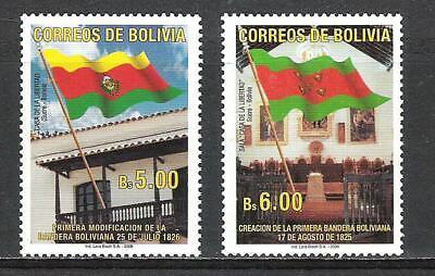 Bolivia 2006 1ª Modificación de la Bandera