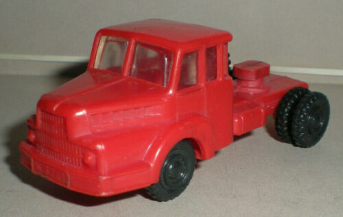 Red UNIC Tractor for AF 24566 New Haven Automobile Carrier