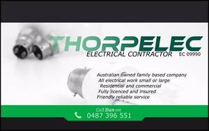 Electrical contractor. Thorpelec . Perth Electrician Joondalup Joondalup Area Preview
