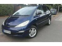 2005 Toyota Previa 2.0 d-4d T3 7 seater MPV low mileage full leather