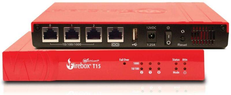 WatchGuard Firebox T15 - WGT15001-WW