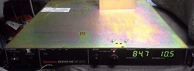Sorensen Dcs100-10e Power Supply 0 - 100v 0 -10a Load Tested 1000wt 1u Height Dc