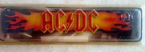 AC/DC Incense Burner Rock Shop Lightning Bolt and Flames Logo New Sealed