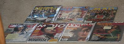 The Beatles related 7 magazine lot.Maxim Blender.Mojo.Mad.Tracks.Cargo-Fashion.