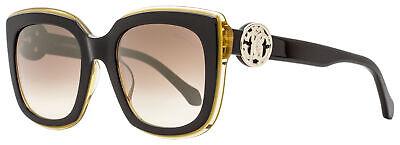 Roberto Cavalli Square Sunglasses RC1069 Grosseto 05G Black/Honey 51mm -