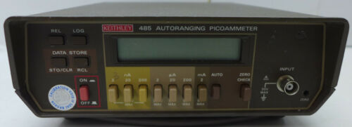 Keithley 485 4.5 digit PicoAmmeter Tested and Working #4