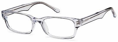 DALIX Crystal Clear Unisex Glasses Frames Rxable Eyeglasses Size  53-19-140 FREE
