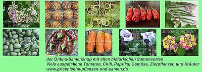 Griechische Pflanzen und Samen