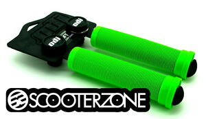 ODI-Longneck-SOFT-Grips-for-Scooters-BMX-Bikes-Flangeless-Grips-GREEN