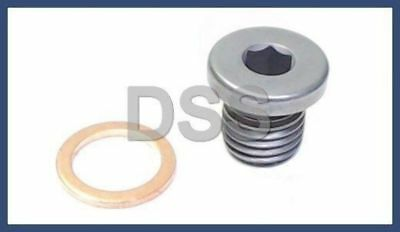 New Genuine BMW e46 m3 m5 m6 M coupe Engine Oil Pan Drain Plug + Washer OEM Bmw M3 E46 Oil