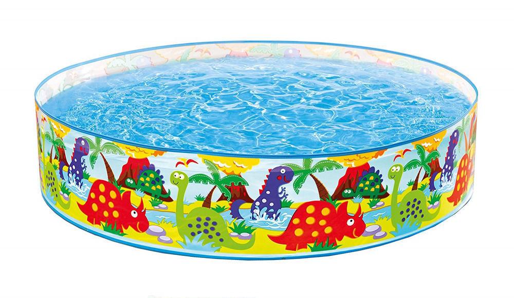 Kinderbadespaß-Spielzeuge Intex 58474NP Planschbecken Snap-set Pool 122x25cm günstig kaufen