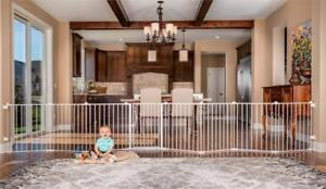 NEW Regalo 192-Inch Super Wide Gate and Play Yard, White Condition: New