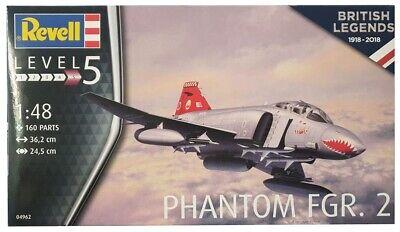 Revell 04962 Kampfflugzeug Phantom FGR.2 Modellbausatz, Level 5 Maßstab 1:48 Neu
