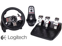 Logitech G27 - Steerling wheel, pedals and shifter