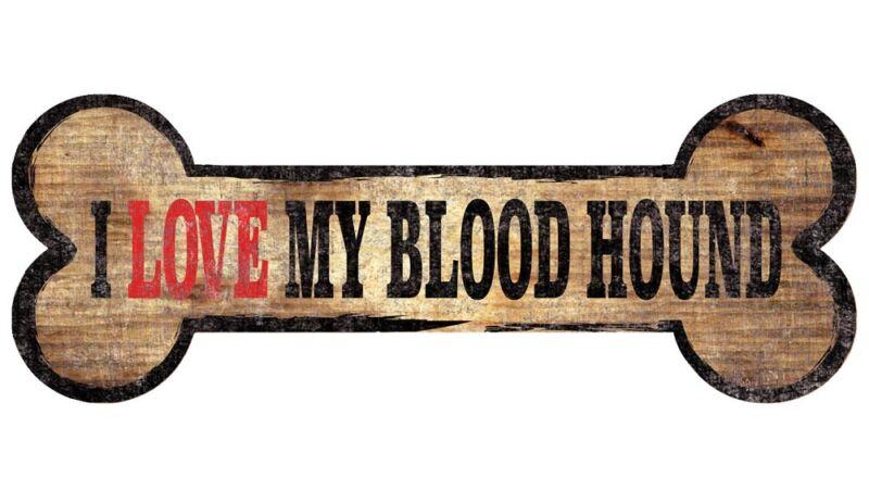 Bloodhound Sign - I Love My Bone 3x10
