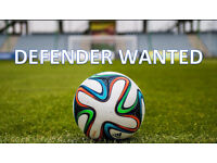 Sunday League Football - Defender / Centre Back Wanted