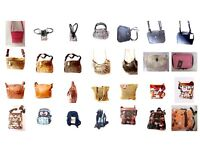 wholesale 50 women handbags different colors and sizes