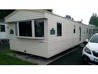 8 berth static caravan for hire marton mere Blackpool this is a Haven site .