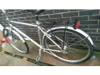 Gents Hybrid city touring bike