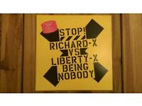 Richard X vs Liberty X 'Being Nobody' 12 inch Vinyl Single