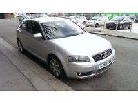 Silver Audi A3 2003 Excellent Condition £2000