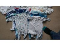 Large Bundle of Good Quality Baby Clothes - 3 - 6 months