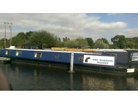 "58ft Semi-Trad Narrowboat ""The Roaring Donkey"" Houseboat"