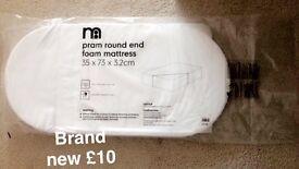 Mothercare Moses Basket Mattress Brand New
