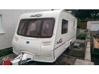 2005 Bailey Pageant Monarch 2 berth with end wash room