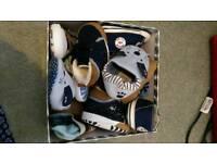 Job lot baby shoes