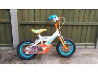 Dusty kids bike