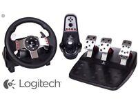 Logitech g27 steering wheel/pedals ect