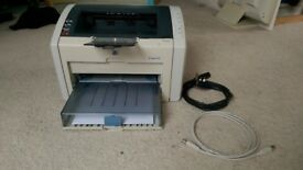 Printer - HP 1022 laserjet black & white monochrome