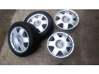 Alloy wheels vw golf bora
