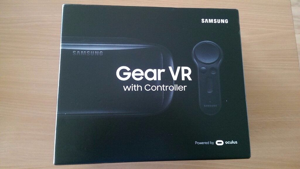 2017 Samsung Gear VR with controller. Brand new & sealed