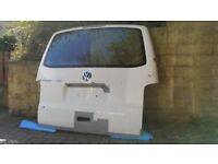 VW T5 T5.1 TRANSPORTER TAILGATE WITHOUT GLASS IDEAL FOR CONVERSION DELIVERY AVA