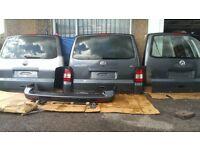 VW T5 T5.1 TAILGATE BOOTLID REAR DOOR TRANSPORTER MULTIVAN CARAVELLE CAMPER CONVERSION GREY LD7U