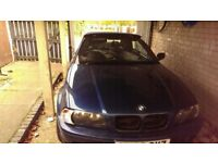 Blue bmw convertable for spares and repairs