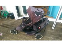 Phil and Teds Sport 2 seater buggy pushchair