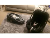 Maxi Cosi Car Seat and FamilyFix isofix