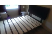 Double Bed Frame and Luxury mattress (4'6x6'3) £350 negotiable