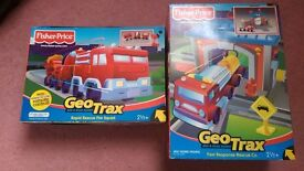 Fisher-Price GeoTrax Rail & Road System - 2 New/Unopened Boxes