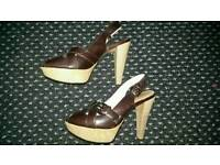 River Island high heels shoes, size 5