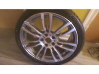 BMW 3 series m sport alloy 19 inch