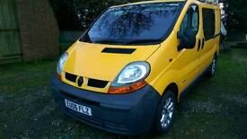 Renault Traffic 1.9dci camper van project